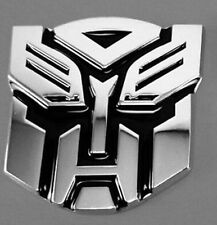 Autobot Transformers Emblem Badge 3D Logo Protector Graphics Decal Car Sticker F