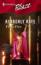Texas Fire, Raye, Kimberly, Acceptable Book