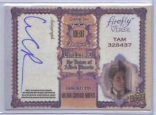 William Converse-Roberts Firefly The Verse 2015 Upper Deck Autograph Auto #WC