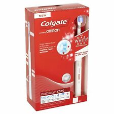 Colgate ProClinical C350 Max White One Rechargeable Electric Toothbrush X1 brush