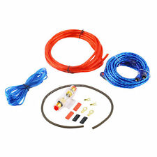 1500W 8GA Car Audio Subwoofer Amplifier AMP Wiring Fuse Holder Wire Cable Kit BE
