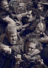 Sons of Anarchy Fight A3 Poster