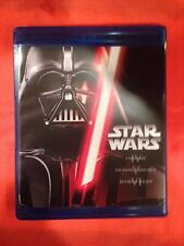 STAR WARS COMPLETE SAGA BLURAY SET (Eps 1-6) I,II,III,IV,V,VI *TRILOGY 1-3 & 4-6