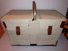 Picnic Time Pioneer Picnic Basket with Deluxe Service for Two