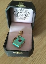 New Juicy Couture suitcase Handbag Charm For Bracelet Necklace Handbag Keychain