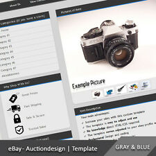 Responsive eBay Professional Custom Design Auction Listing Template - 2017 ready
