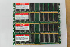 2gb 2x1gb ddr-400 di RAM cl3 memoria pc-3200u per desktoppc Low Density
