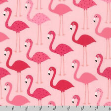 BY YARD-Robert Kaufman Fabric Urban Zoologie Tropical Flamingo AAK-14719-10 PINK