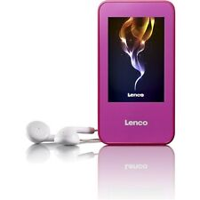 Lenco Xemio 858 4Gb MP3 / MP4 Player with Micro SD and FM Radio - Pink