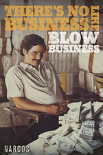NAROCS NETFLIX PABLO ESCOBAR COLOMBIA BOGOTA BLOW single 24x36 poster BRAND NEW!