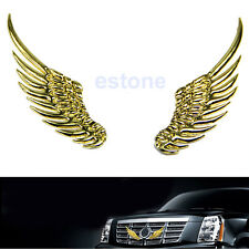 3D Alloy Metal Angel Hawk Wings Emblem Badge Decal Logo Sticker For Any Car Hot