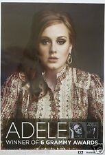 "ADELE ""21 & ALBERT HALL - WINNER OF 6 GRAMMY AWARDS"" PROMO POSTER FROM THAILAND"