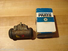 "NOS MOPAR 1960-6 DART,VALIANT,BARRACUDA REAR WHEEL CYLINDER W/9"" BRAKES & 6 CYL"