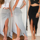 Women High Waisted Asymmetric Stretch Ruched Skirt Party Mini Bodycon Adorable