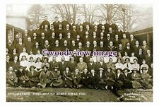 rp13062 - Chelmsford Post Office Staff , Christmas 1915 - photograph