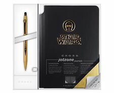Cross Star Wars C3PO Click Gel Pen with Journal - Gift Box (AT0625SD-16/1)