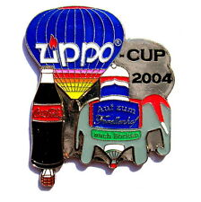 "Zippo ballon ""special shape"" pin/broches-Cup Borken avec Coca Cola 2004 [3724]"