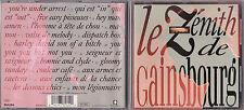 CD 18T LE ZENITH DE SERGE GAINSBOURG DE 1989 TBE