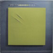POLYPHONIC SIZE 1982 Minimal Synth Electronic Synth-Pop ORG France LP NMINT
