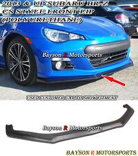 CS-Style Front Lip (Urethane) Fits 12-16 Subaru BRZ