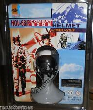 1/6 Dragon HGU-68/P Combat Edge US Military Pilot Helmet LOT of 2  MOC Top Gun