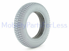 3.00-8 Solid Foam Filled Tire - Knobby Tread - Primo Powertrax
