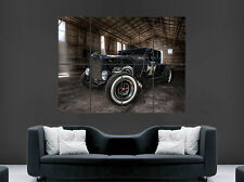 HOT ROD CAR POSTER CLASSIC USA  LARGE WALL ART HUGE