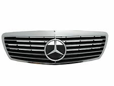 SALE -W211 02-06 Pre-Facelif GRILLE/GRILL 11MD SPORT CHROME/BLACK Mercedes-Benz