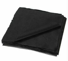 5x Quality Black Superfine Microfibre cloth ipad Camera Lens Screen Glasses
