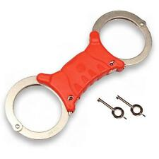 TCH840R Handcuffs Red rigid training cuffs police and security