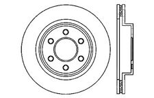 Disc Brake Rotor-High Performance Drilled Centric fits 03-06 Dodge Viper