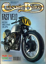 CLASSIC BIKE, March 1990 – Peter Williams, BSA A65, Venom, Superfox / Supermax…