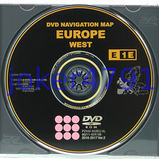 Toyota/Lexus original navigation DVD E1E 2016/2017 Ver. 2 West Europe, NEW