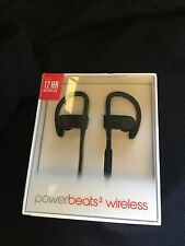 New Genuine Beats by Dr. Dre Powerbeats3 Wireless Ear-Hook Headphones - Black