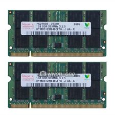 New 2GB 2x1GB PC2700 DDR333MHz Memory For HP Compaq NC6000 NC8000 NX5000 NX7000