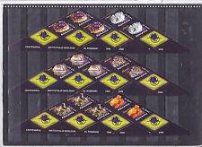 2006 Minerals,Quartz,Ametiste,Mineralien,Minerales,Romania,TAB,Bl.5,MNH