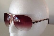 Guess Sun Glasses Glass SunGlasses. GUF 219 GLD-34  BROWN/GOLD