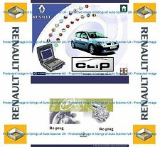 Renault CAN CLiP version 164, Re-Prog version 151