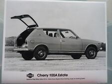 DATSUN CHERRY 100A ESTATE ORIGINAL PRESS PHOTO jm