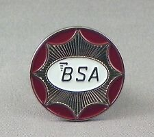 BSA Style Motorcycles Logo Enamel Pin Badge