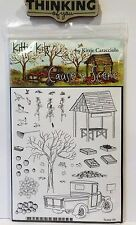 CAUSE A SCENE HARVEST Stamps with Stampin up Bonus stamp Truck fall Tree Market