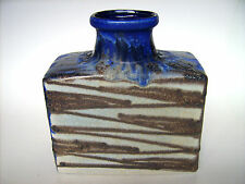 Keramik Vase Scheurich 281-19 Fat Lava pottery Design West-Germany vintage