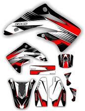 Cr85 Racing Graphic Kit 03-12 Red Graphics Decal Sticker MX CR 85 Number Plates