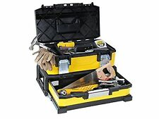 """STANLEY 20tool BOX METALLO PLASTICA con integrato drawer-1 / 95829-no Tools... NUOVO"