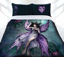 Anne Stokes Silk Lure Fairy Gothic Fantasy KING Size Quilt Doona Cover Set