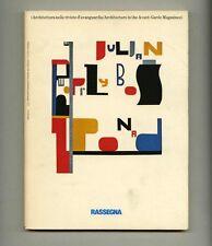 1982 History of Avant-Garde Architecture Magazines in RASSEGNA 12 Italian Design