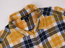 LS5717 MONKI SHIRT TOP ORIGINAL PREMIUM CHECKED CASUAL BATWING SLEEVES size M