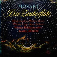 "12"" Mozart Die Zauberflöte Karl Böhm Wiener Philharmoniker DECCA SX 21 173-M"