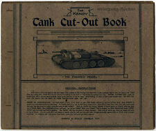 Bastelbogen: The Kendy Tank Cut-Out Book, Panzer zum Ausschneiden um 1950