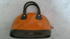 Women's Borse In Pelle Brown Genuine Italian Leather Handbag *NEW*
